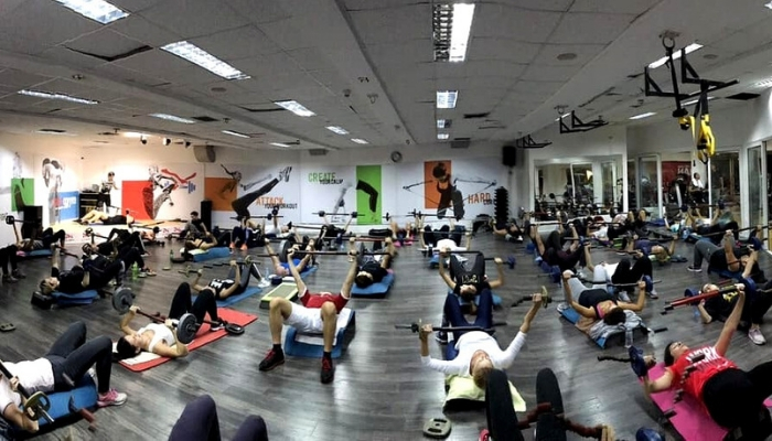 soko gym podgorica trening