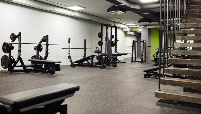 Athletic's Gym free weight zona na Vozdovcu