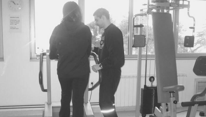 Milan Ivetić - Prvi personalni trening